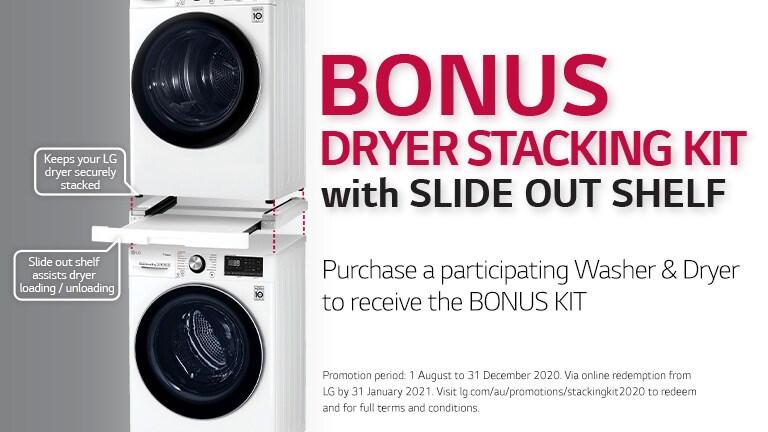 BONUS Dryer Stacking Kit